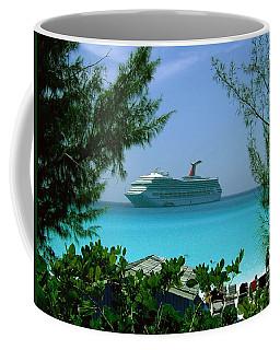 Visiting Paradise Coffee Mug