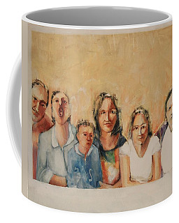 Visiting The Homs Coffee Mug by Jean Cormier