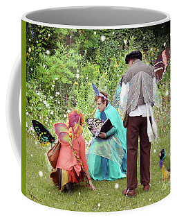 Visitors At A Fairy Blessing Coffee Mug