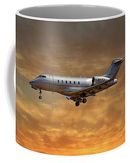 Vista Jet Bombardier Challenger 300 2 Coffee Mug