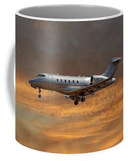 Vista Jet Bombardier Challenger 300 3 Coffee Mug