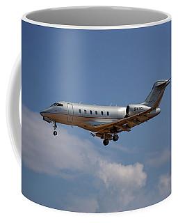 Vista Jet Bombardier Challenger 300 4 Coffee Mug