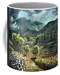 Vista View Of Cannon Mountain Coffee Mug