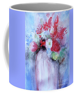 Coffee Mug featuring the painting Vitality Still Life by Jasna Dragun