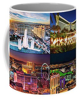 Viva Las Vegas Collection Panorama Coffee Mug