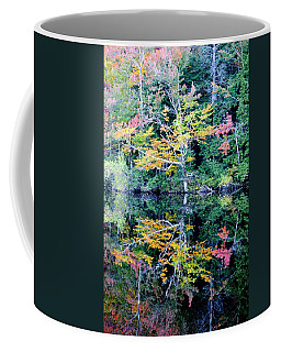 Vivid Fall Reflection Coffee Mug