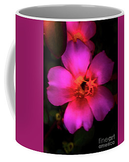 Vivid Rich Pink Flower Coffee Mug