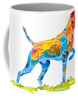 Vizsla On Point Coffee Mug