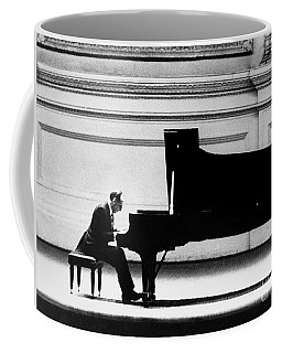 Coffee Mug featuring the photograph Vladimir Horowitz by Granger
