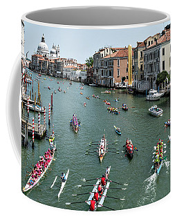 Vogalonga Regatta Action Coffee Mug