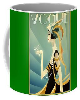 Vogue - Bird On Hand Coffee Mug