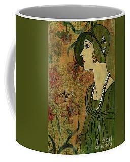 Vogue Twenties Coffee Mug by P J Lewis
