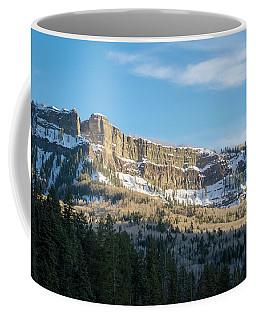 Volcanic Cliffs Of Wolf Creek Pass Coffee Mug