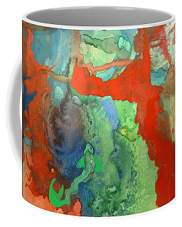 Volcanic Island Coffee Mug by Mary Ellen Frazee