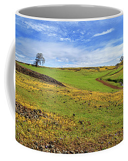 Coffee Mug featuring the photograph Volcanic Spring by James Eddy