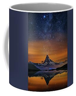 Volcano Fountain Coffee Mug