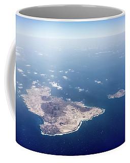Volcano Island Coffee Mug