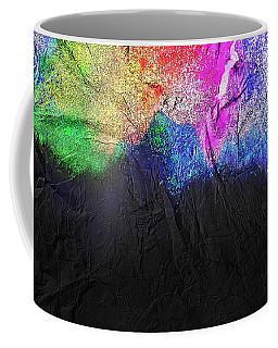 Coffee Mug featuring the painting Volcano by Mark Taylor