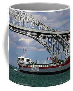 Volgaborg And Blue Water Bridge 3 Coffee Mug