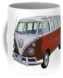 Volkswagen Bus 21 Window Bus  Coffee Mug