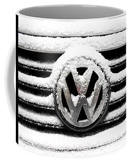 Volkswagen Symbol Under The Snow Coffee Mug
