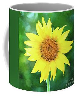 Volunteer Sunflower  Coffee Mug