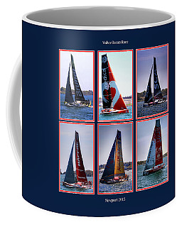 Volvo Ocean Race Newport 2015 Coffee Mug