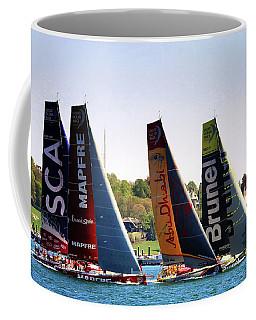 Volvo Ocean Race Newport Ri Coffee Mug