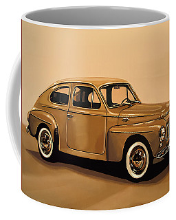 Volvo Pv 544 1958 Painting Coffee Mug