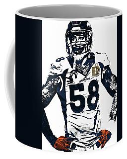 Von Miller Denver Broncos Pixel Art 2 Coffee Mug
