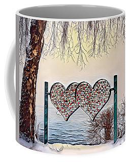 Coffee Mug featuring the digital art Vow Of Love by Pennie McCracken