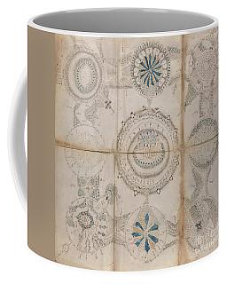 Voynich Astro 3x3 Coffee Mug