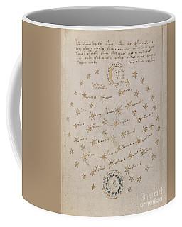 Voynich Manuscript Astro Sun And Moon 1 Coffee Mug