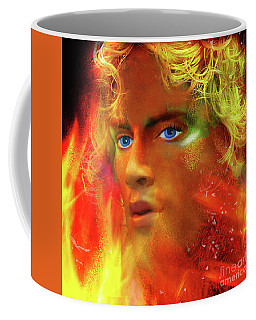 Coffee Mug featuring the photograph Vulcan by LemonArt Photography