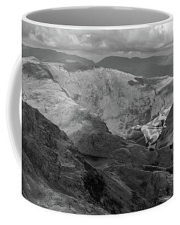 Vulcan Low-level In The Lakes Bw Version Coffee Mug by Gary Eason