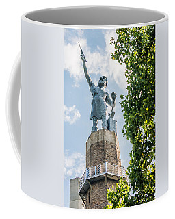 Vulcan On A Sunny Day Coffee Mug by Parker Cunningham
