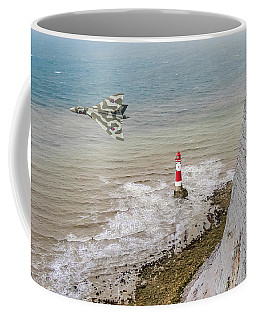Vulcan Passing Beachy Head Coffee Mug by Gary Eason