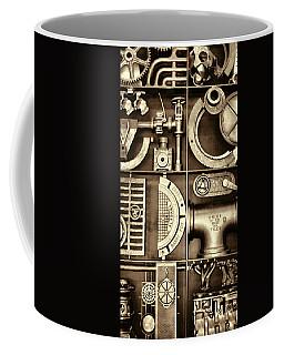 Vulcan Steel Steampunk Ironworks Coffee Mug