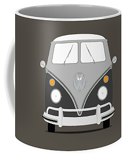 Vw Bus Grey Coffee Mug