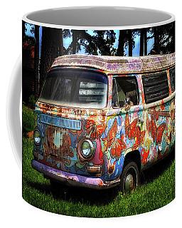 Vw Psychedelic Microbus Coffee Mug