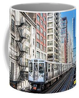 The Wabash L Train Coffee Mug