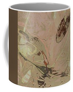 Wabi-sabi Ikebana Remix Warm Taupes Coffee Mug
