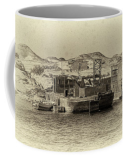 Wadi Al-sebua Antiqued Coffee Mug by Nigel Fletcher-Jones
