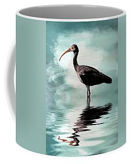 Wading Ibis Coffee Mug by Cyndy Doty