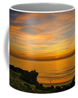 Wading In Golden Waters Coffee Mug