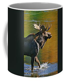 Wading Moose Coffee Mug