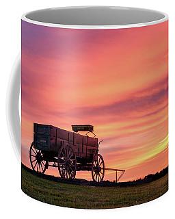 Wagon Afire Coffee Mug