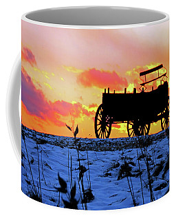Wagon Hill At Sunset Coffee Mug