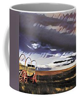 Wagon Train Coffee Mug