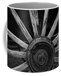 Coffee Mug featuring the photograph Wagon Wheel by Eric Liller